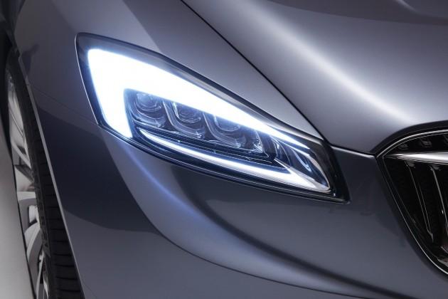 Buick Avenir Concept Headlights