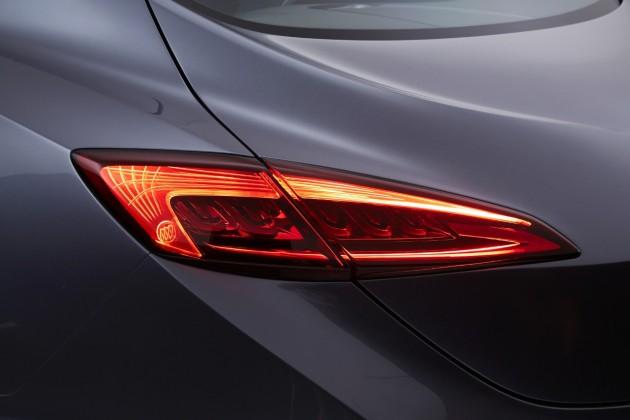 Buick Avenir Concept Tailights