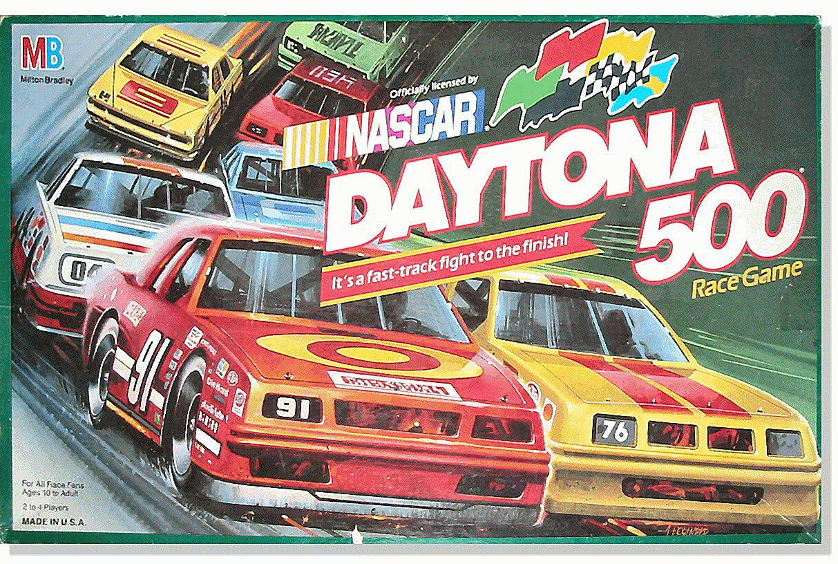 daytona 500 Top Car-Themed Board Games
