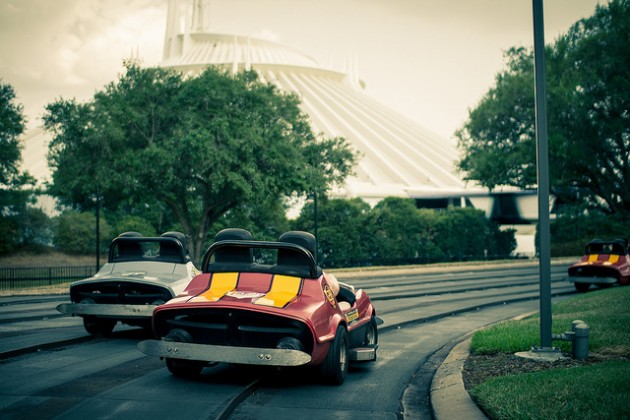 History of Tomorrowland Speedway