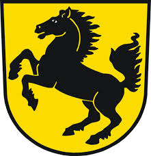 Coat of arms of Stuttgart inspired Porsche logo