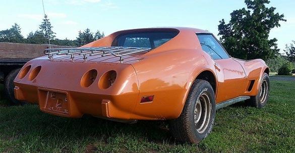 1977 C3 Corvette