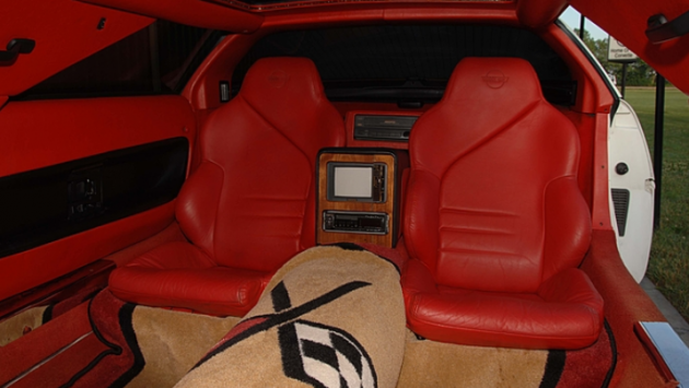 1994 Corvette Limo interior