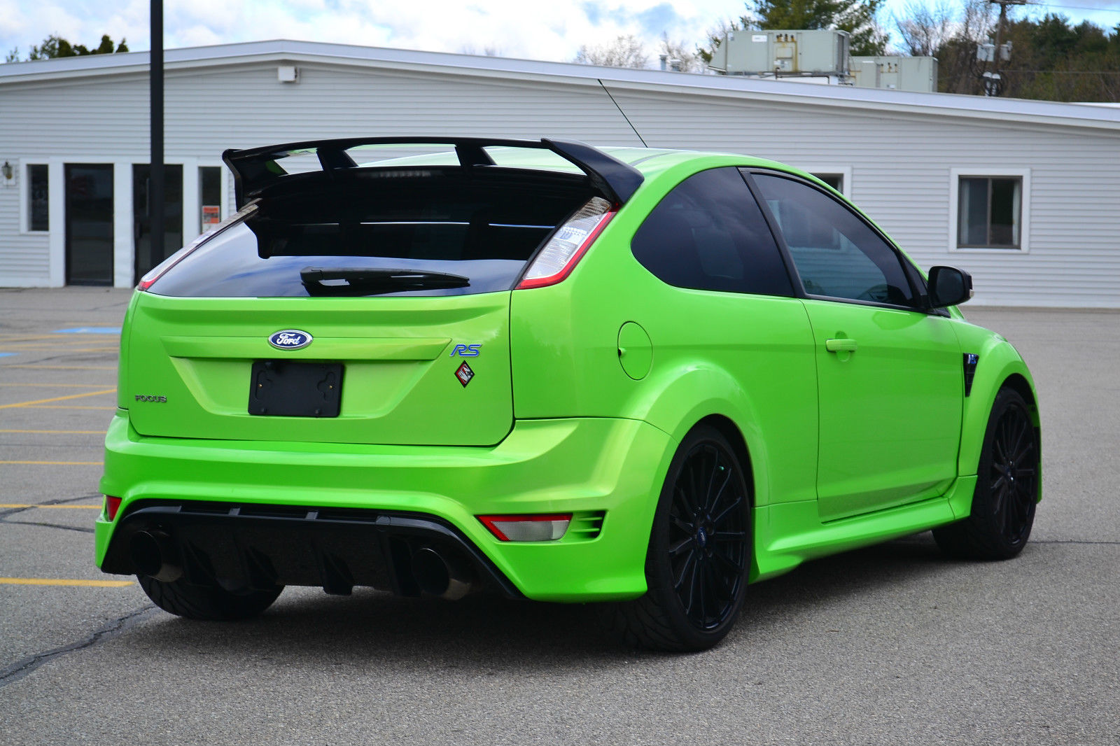2010 ford focus rs ebay photo 13 the news wheel. Black Bedroom Furniture Sets. Home Design Ideas