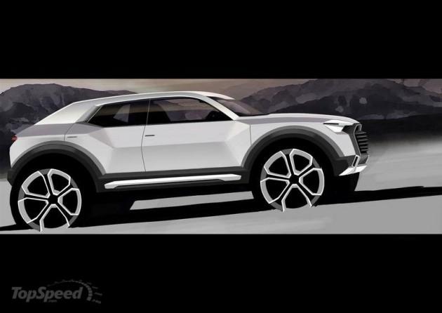 2016 Audi Q1 Sneak Peek