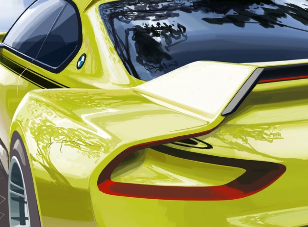 2015 BMW 3.0 CSL at Villa d'Este 2015
