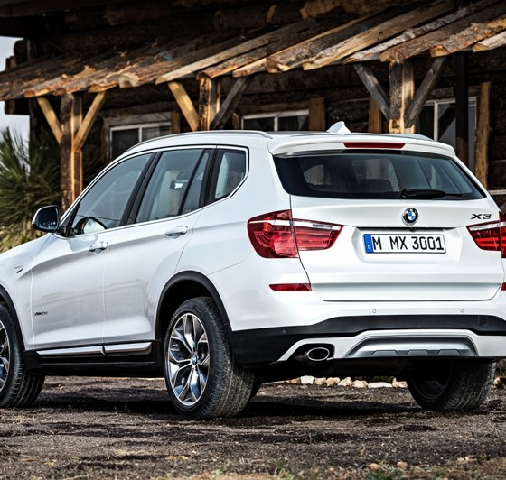 Bmw Suv: Electric News: 2017 BMW X3 To Feature Plug-In Hybrid