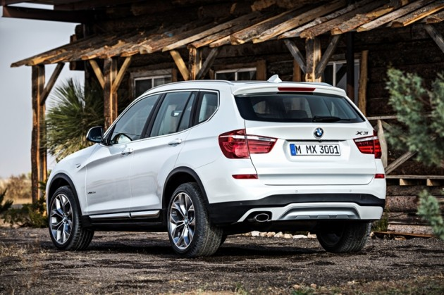 2015 BMW X3 SUV white exterior electric news