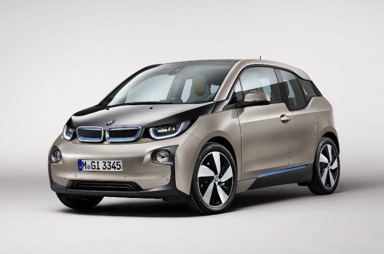 2015 BMW i3 overview front