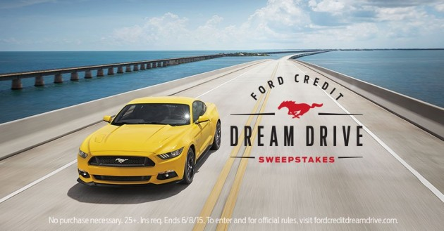 Ford Credit Dream Drive Sweeps