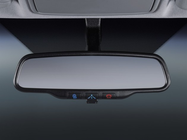 2015 Hyundai Veloster Overview mirror features