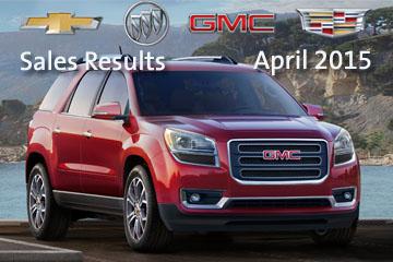 General Motors April Sales