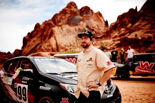 2015 Toyota RAV4 Rally Car and Ryan Millen