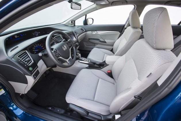 2015 Honda Civic Sedan.