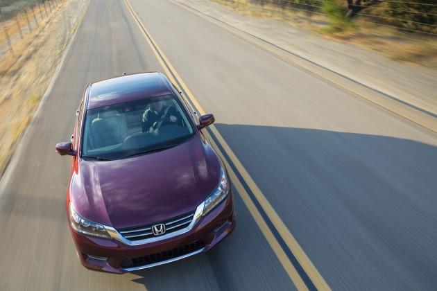2015 Honda Accord EX-L V-6 Sedan model overview