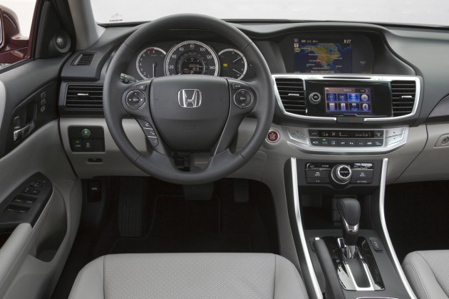 2015 Honda Accord EX-L V-6 Sedan interior