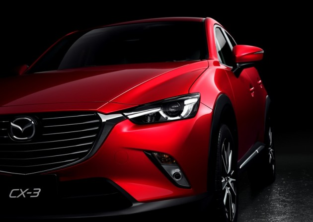 2016 Mazda CX-3 Overview grille performance