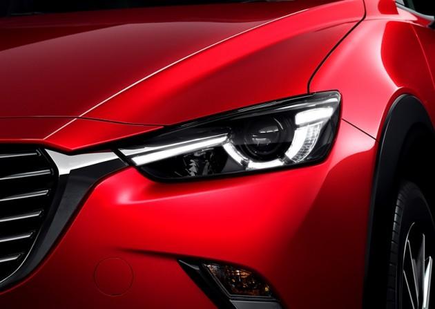 2016 Mazda CX-3 Overview headlight