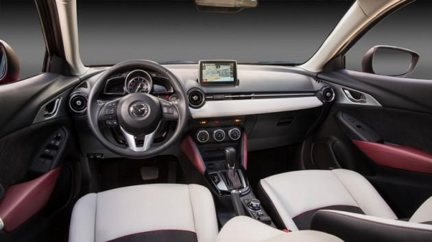 2016 Mazda CX-3 Overview interior