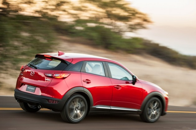 2016 Mazda CX-3 Overview rear exterior
