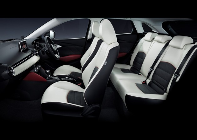 2016 Mazda CX-3 Overview safety seats