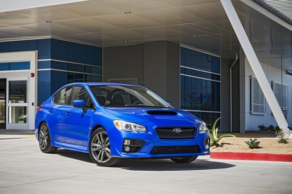 2016 Subaru WRX overview