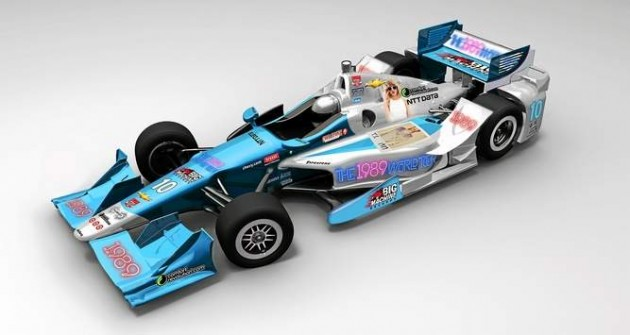 Tony Kanaan to Class Up Belle Isle Grand Prix with this No. 10 Taylor Swift IndyCar