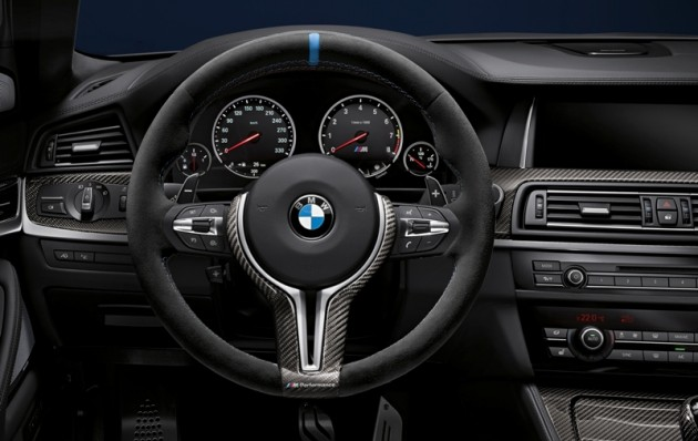 BMW steering wheel M performance part self-driving car technology