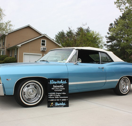 Buy The 1967 Chevy Impala From Bewitched