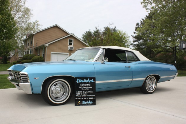The 1967 Chevy Impala driven by Darrin and Samantha on the classic comedy Bewitched