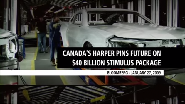 Canadian Prime Minister Stephen Harper campaign ad features outgoing Camaro