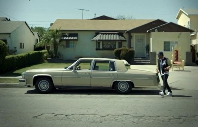 Lamar learned used his father's Cadillac to learn how to drive.