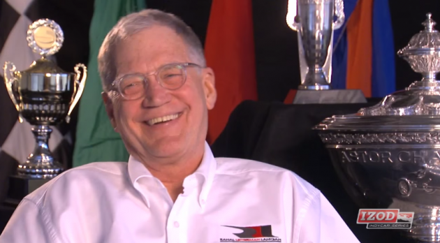 David Letterman discusses his short-lived pit reporter career and other racing memories