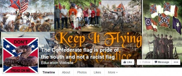 The Confederate flag is pride of the south and not a racist flag