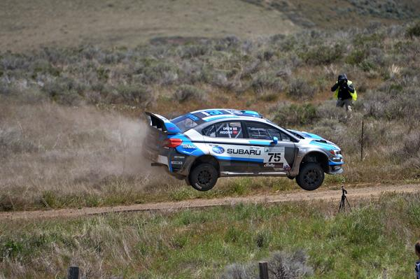 David Higgins Dominates Again at Oregon Trail Rally