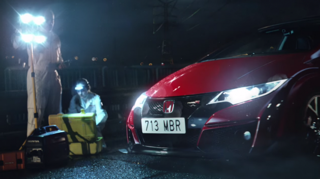 Honda Civic Type R - Feeling ad