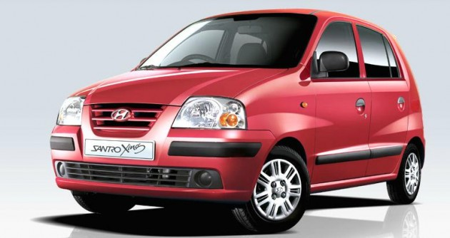 Hyundai's First Indian Car, the Santro Xing, Officially Retired