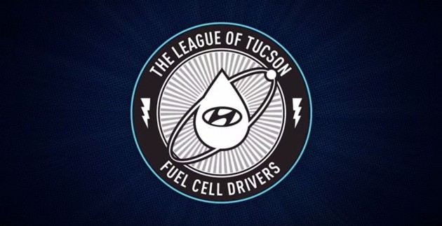 Hyundai's Everyday Superheroes The League of Tucson Fuel Cell Drivers logo