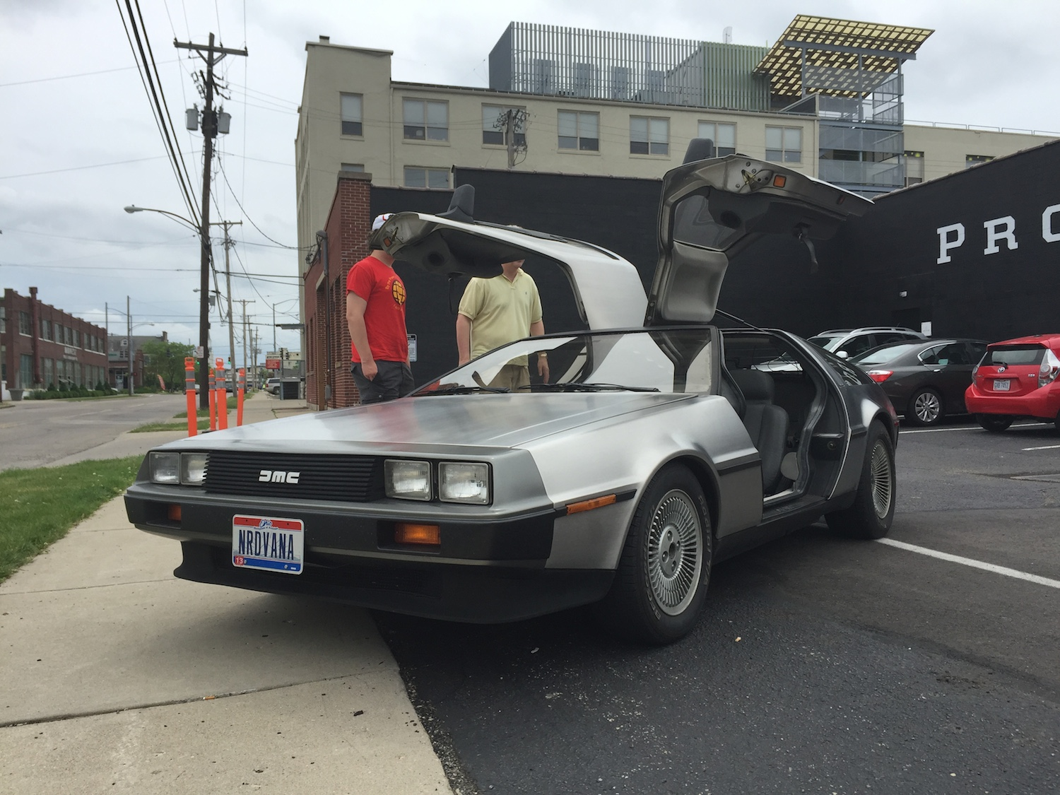 DeLorean at Dayton's Proto BuildBar