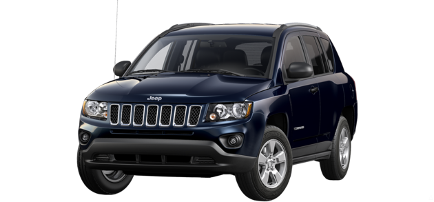 The 2015 Jeep Compass in True Blue Pearl - Best exterior colors offered by Jeep