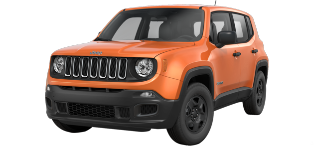 The 2015 Jeep Renegade in Omaha Orange - Best exterior colors offered by Jeep