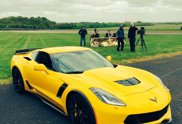 Jeremy Clarkson tweets Corvette photo