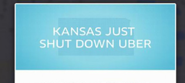 KANSAS JUST SHUT DOWN UBER