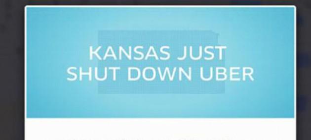 KANSAS JUST SHUT DOWN UBER