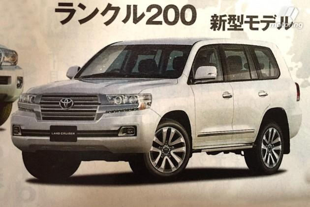 2016 Land Cruiser 200