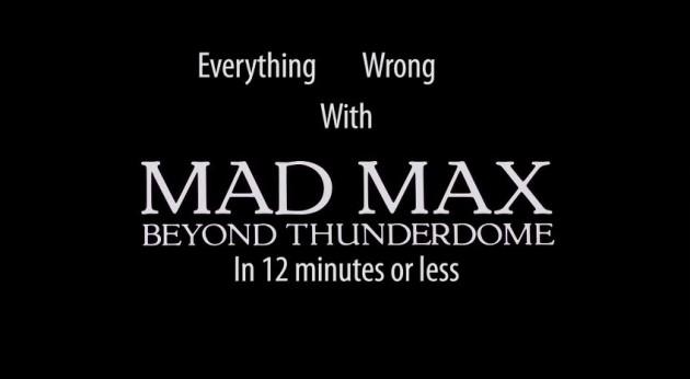 Mad Max CinemaSins