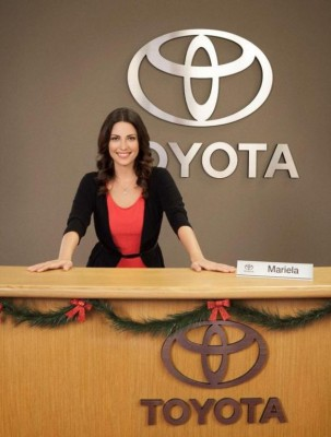 Mariela Is the Latina Toyota Jan Tiffany Diaz actress Spanish