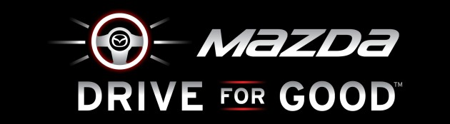Mazda Drive for Good logo
