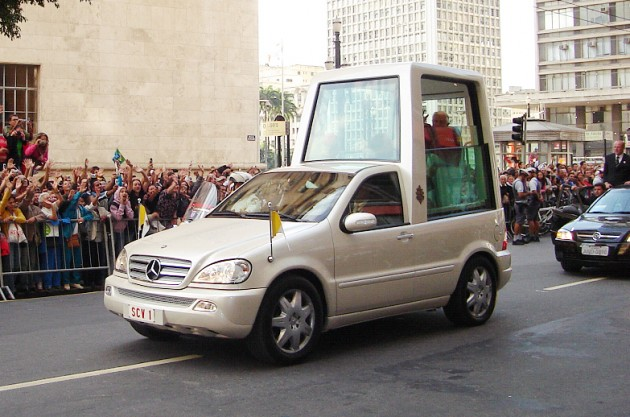 Mercedes-Benz M-Class Popemobile car model