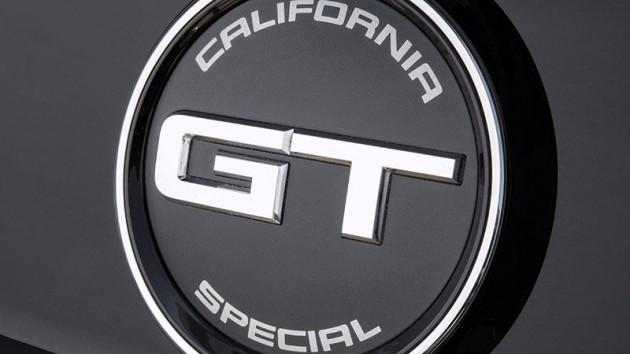 Mustang GT California Special Badge
